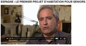 """Jubilares en el programa Yourope de Canal Arte """"Espagne: le premier project d´habitation pour seiors"""""""