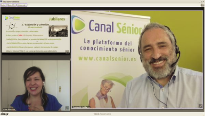Miguel Ángel Mira en Canal Senior